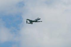 Changi, Singapour - fév. 6,2010 : Coup de foudre II de l'U.S. Air Force A-10 Photo libre de droits