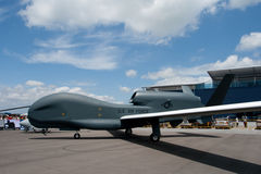 Changi Singapur, Feb, - 6,2010: Northrop Grumman RQ-4N BAMS fotografia stock