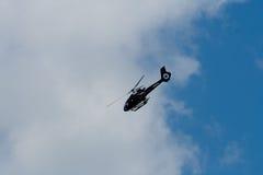 Changi, Singapur - febrero 6,2010: Helicóptero de Eurocopter EC130 B4 Fotografía de archivo libre de regalías