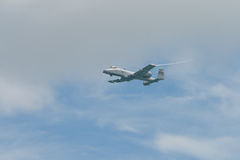 Changi, Singapur - febrero 6,2010: Rayo II del U.S.A.F.A-10 Imagen de archivo libre de regalías