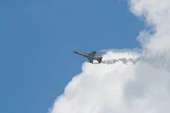 Changi, Singapur - febrero 6,2010: Un avión de combate T-50 Fotografía de archivo