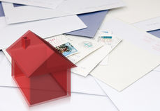 Changing addresses royalty free stock image