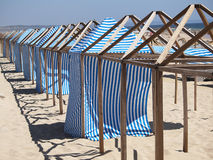 Free Changing Beach Cloth House Stock Photos - 24636023
