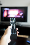 Changing channels Royalty Free Stock Image