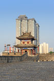 Changing cityscape of China (Xian city) Royalty Free Stock Image