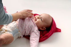 Changing Diaper Royalty Free Stock Image