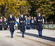 Changing of the Guard Arlington Cemetery Va Stock Photos