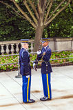 Changing the guard at Arlington Stock Images