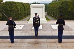 Changing the guard at Arlington Stock Photo