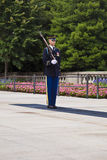Changing the guard at Arlington Royalty Free Stock Photos