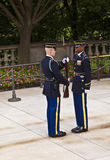 Changing the guard at Arlington Royalty Free Stock Images