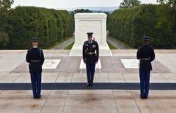 Changing the guard at Arlington Royalty Free Stock Images