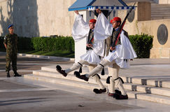 Changing of Guard in Athens Royalty Free Stock Photography