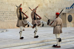 Changing the Guard in Athens Stock Photography