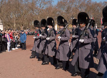 Changing the Guard, Buckingham Palace Royalty Free Stock Image