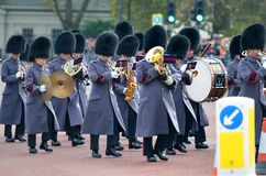 Changing of the guard in Buckingham Palace Stock Photography