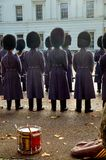 Changing of the guard in Buckingham Palace. London. Great Britain Royalty Free Stock Image