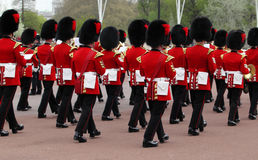 The changing of the guard at Buckingham Palace Stock Image
