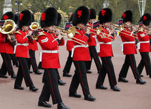The changing of the guard at Buckingham Palace Royalty Free Stock Images