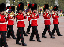 The changing of the guard at Buckingham Palace Stock Photography