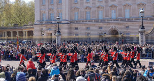 Changing the guard at Buckingham Palace, London Stock Images