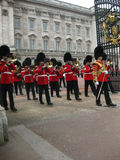 Changing The Guard At Buckingham Palace, London - Stock Image Stock Image