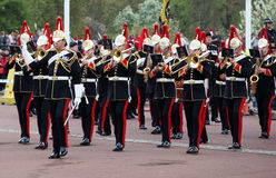 The changing of the guard at Buckingham Palace, London, United Kingdom. Stock Photo