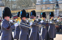 Changing the Guard, Buckingham Palace Stock Photo
