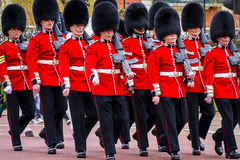 Changing the guard Stock Images