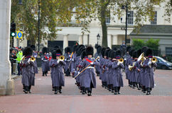 Changing of the guard in Buckingham Palace. Royalty Free Stock Photos
