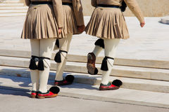Changing of the Guard ceremony, Athens Royalty Free Stock Image
