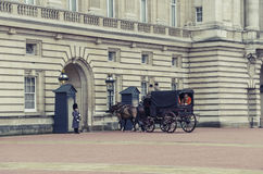 Changing of the Guard ceremony in Buckingham Palace Stock Images