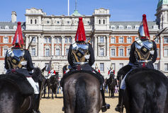 Changing of the Guard Ceremony in London Royalty Free Stock Photography