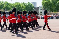 Changing guard ceremony Royalty Free Stock Photos