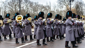 Changing of the guard ceremony in UK Stock Photography