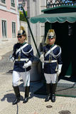Changing of Guard in Lisbon, Portugal Stock Images