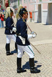Changing of Guard in Lisbon, Portugal Royalty Free Stock Photography