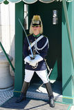 Changing of Guard in Lisbon, Portugal Stock Photography