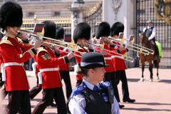 Changing the Guard. London Royalty Free Stock Image