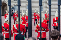 Changing the Guard London Stock Images