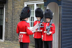 Changing of the Guard London England Stock Images