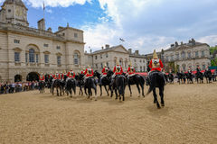 Changing the Guard, London, England Royalty Free Stock Image