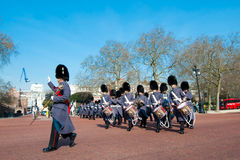 Changing the Guard, London Royalty Free Stock Photography