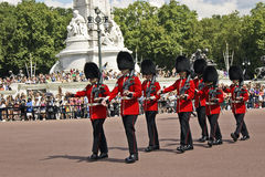 Changing of Guard. In London, UK Stock Photo