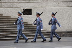 The changing of the guard Royalty Free Stock Photography