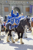 Changing of the guard near the royal palace. Sweden. Stockholm Stock Images