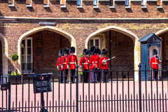 Changing of the Guard near St. James Palace in The Mall, London, England, UK Stock Photos