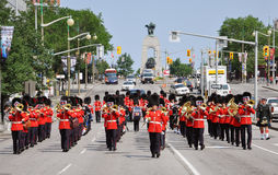 Changing of Guard in Ottawa, Canada Stock Photo