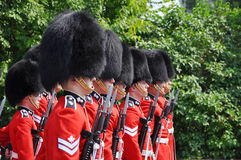 Changing of Guard in Ottawa, Canada Stock Photos