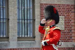Changing of Guard in Ottawa, Canada Royalty Free Stock Images
